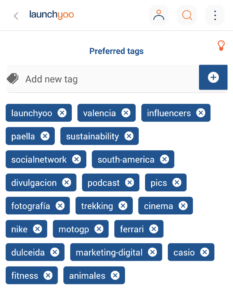 Personal Tags