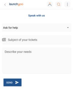 Help&Support menu