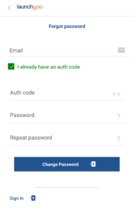 I have auth code
