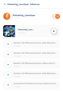 Lista podcasts